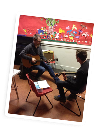 Acoustic Guitar Lessons in Hampshire